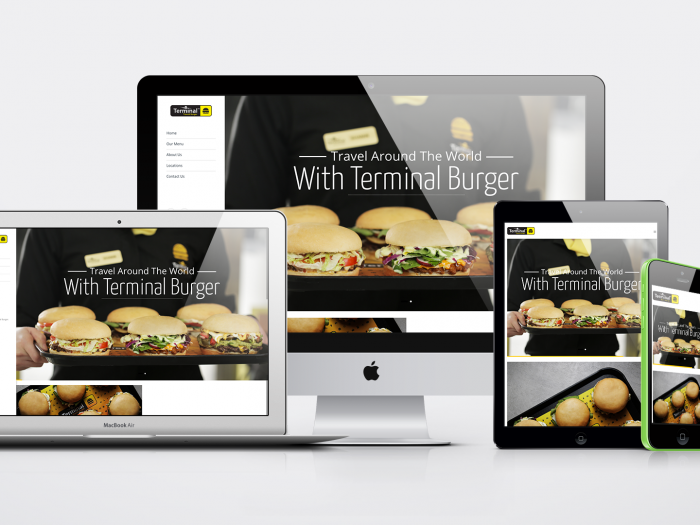 Terminal Burger Website