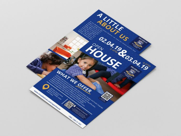 MNS-D Open House flyer