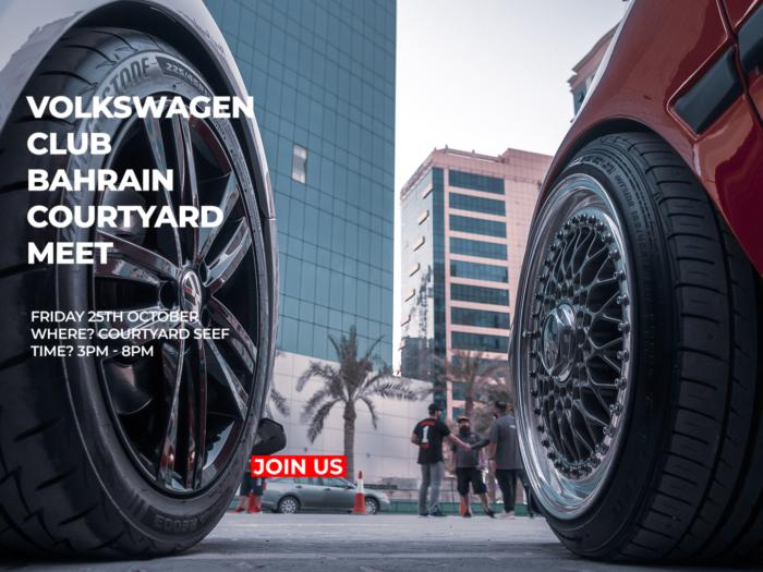 Volkswagen Club Bahrain Courtyard Meet