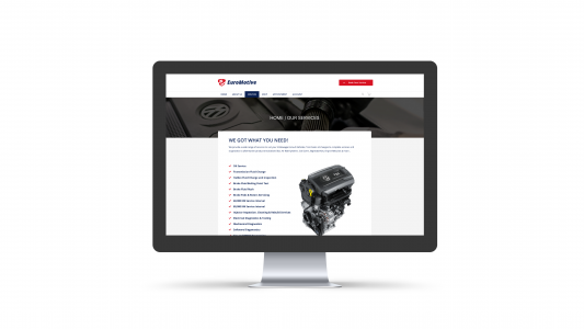 Euromotive Service Page